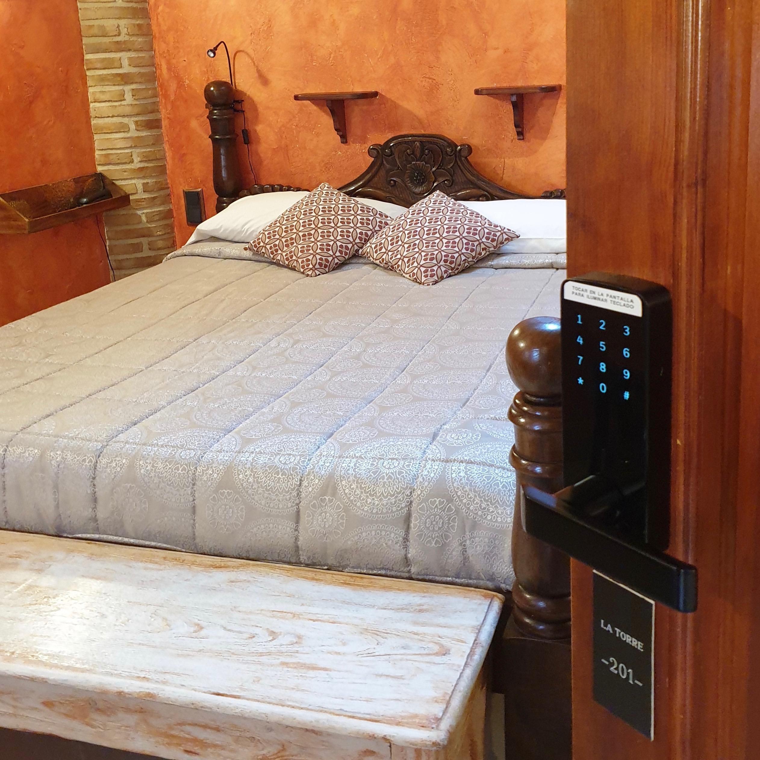 turismo rural en la Sierra de Madrid Habitación hotel rural